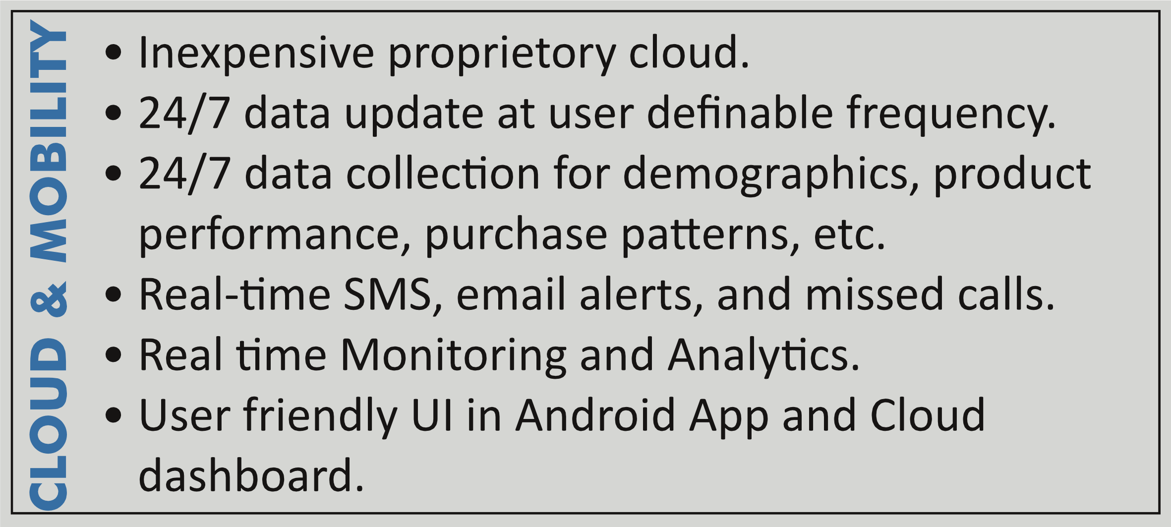 Sosaley IoT Cloud & Mobility