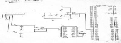Sosaley universal scanner circuit diagram