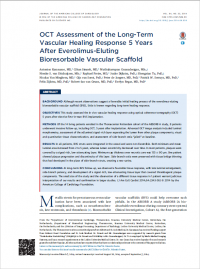 OCT Assessment of the Long-Term Vascular Healing Response