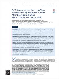 OCT Assessment of the Long-Term Vascular Healing Response