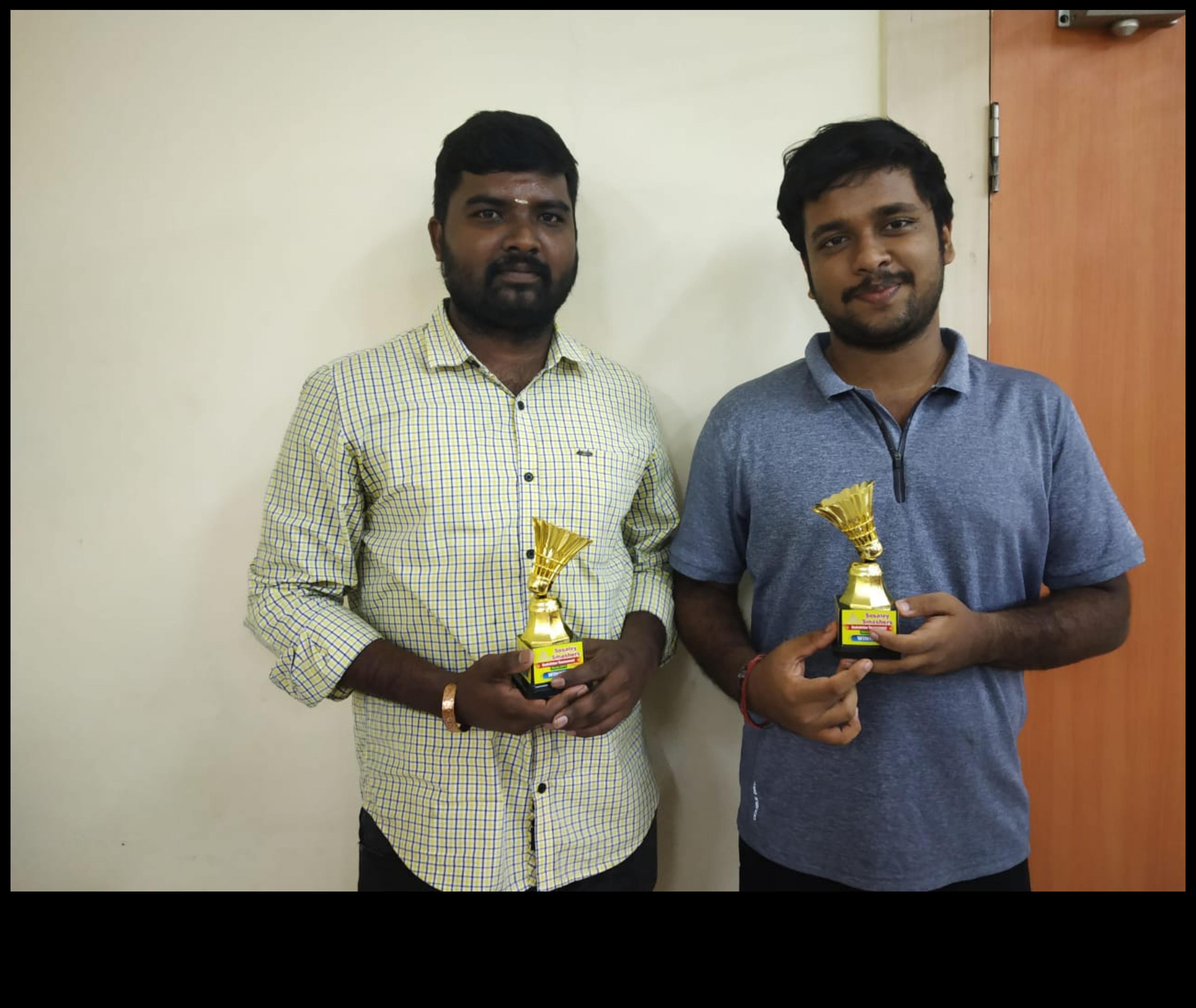 Winners of the Sosaley Smashers 2019