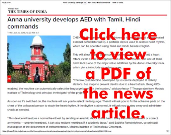 AED ToI PDF Image