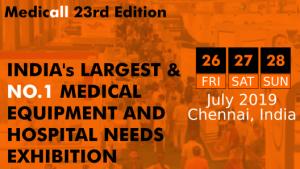 sosaley participating in medicall chennai 2019