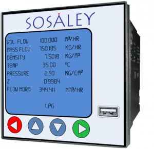 Sosaley Flow Meter
