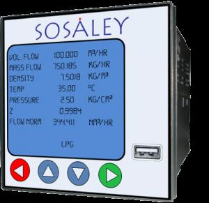 Sosaley Flow Meter
