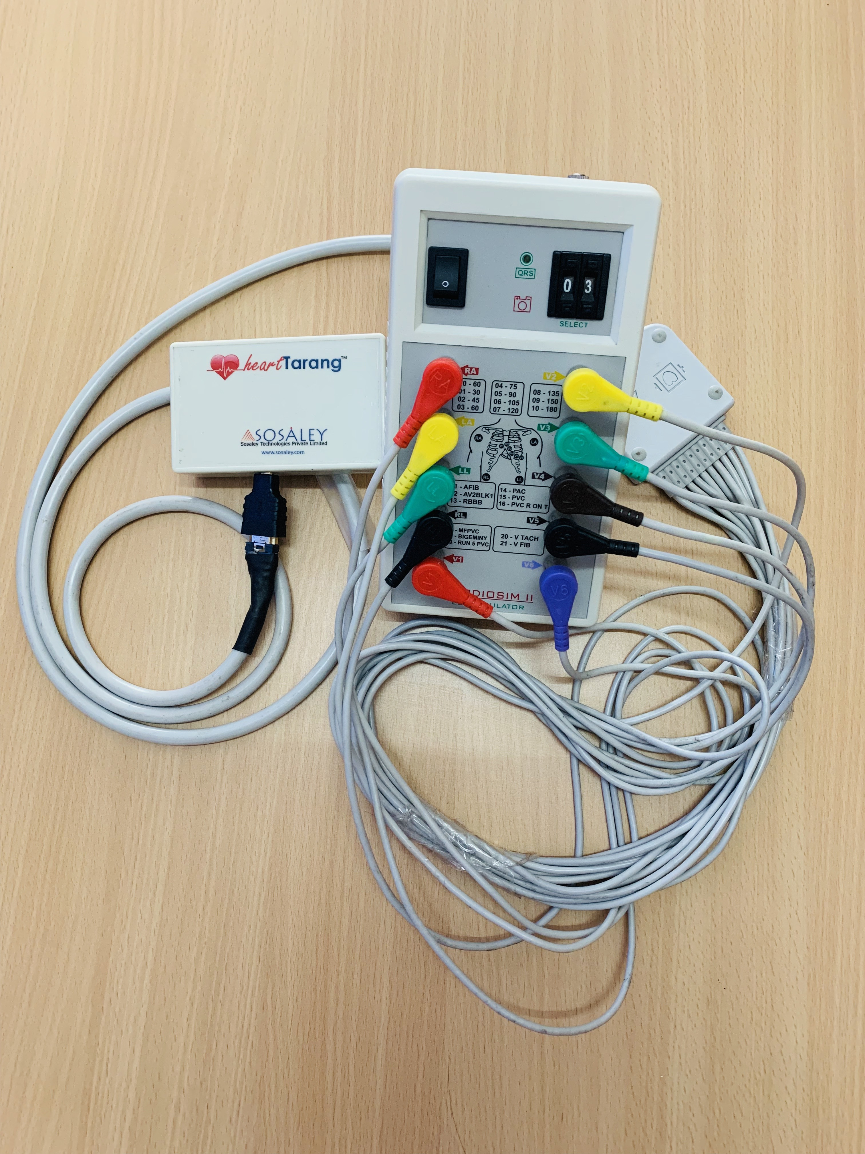 sosaley wireless ecg kit