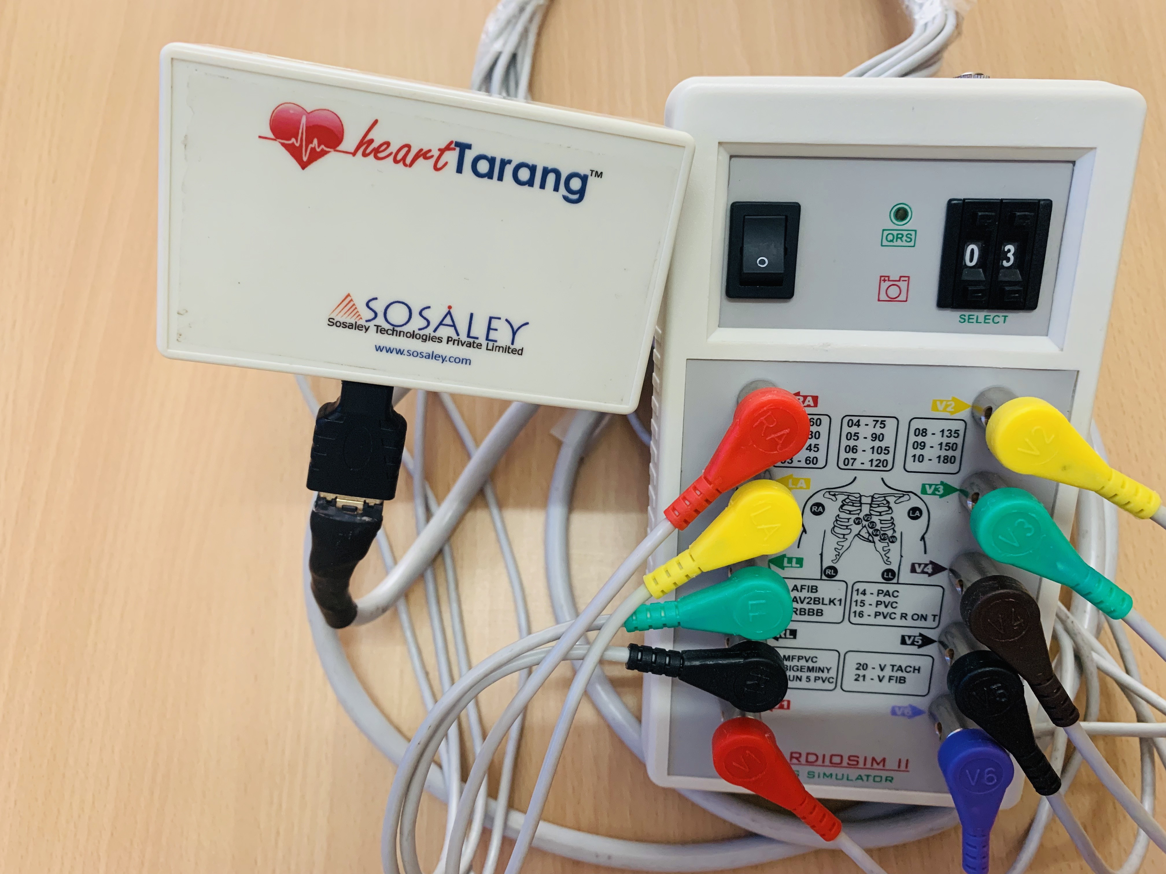 sosaley wireless ecg snap 2