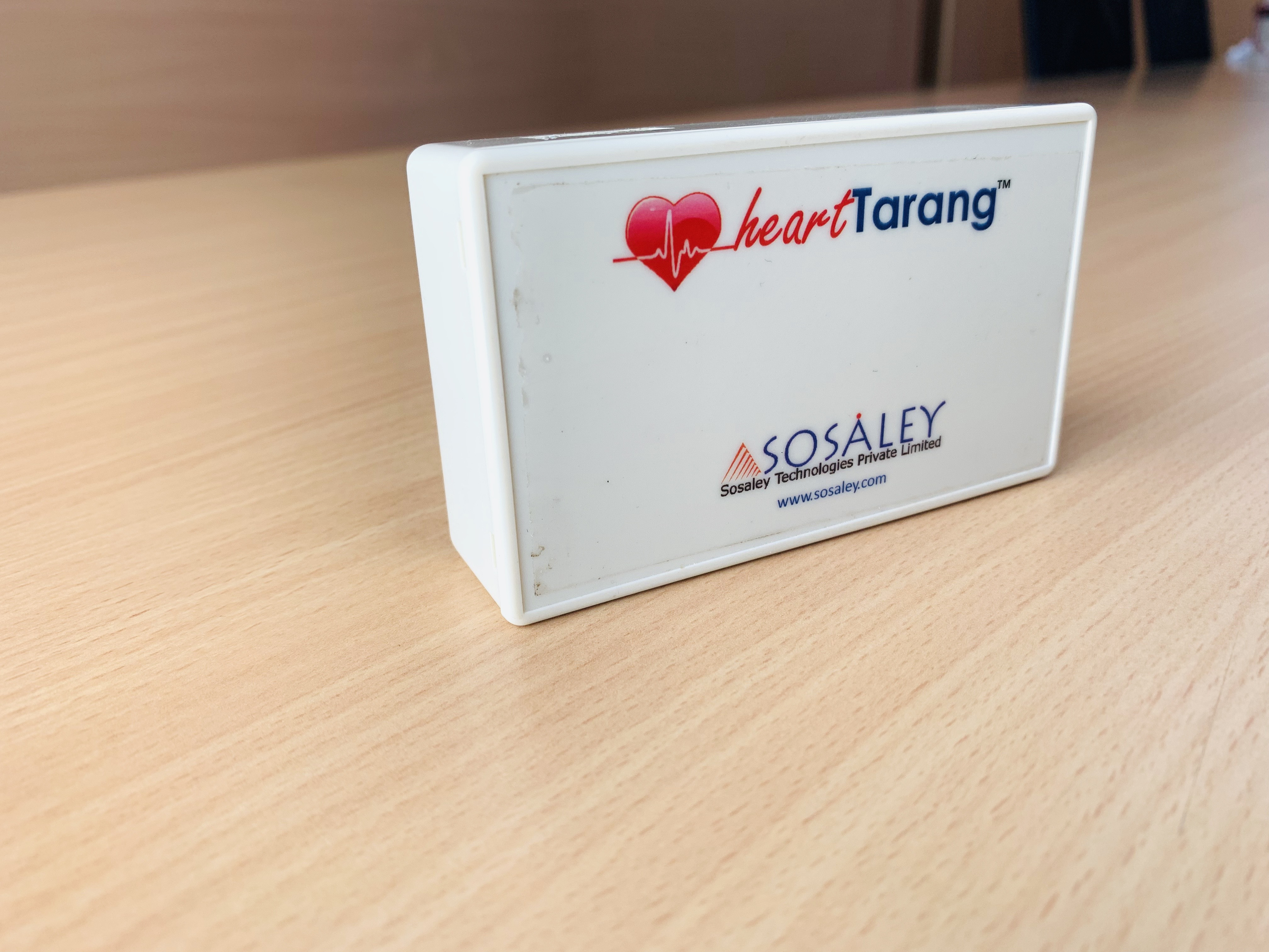sosaley wireless ecg snap 4